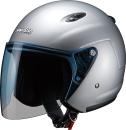 マルシン工業 ジェットヘルメットM-400XL シルバー (61〜62cm未満)