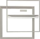 ホーム床点検口 桟レスタイプ YST450N型 ステンカラー