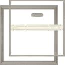 ホーム床点検口 廉価スタンダードタイプ HDCN45型 ステンカラー