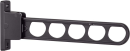 ホスクリーン 腰壁用 HC−45型 450mm 角度3段調整 1本 ダークブロンズ