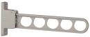 ホスクリーン 腰壁用 HC−45型 450mm 角度3段調整 1本 ライトブロンズ