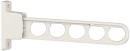 ホスクリーン 腰壁用 HC−45型 450mm 角度3段調整 1本 ホワイト