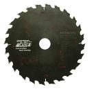 日立 パーチクルボード用チップソー(ブラックII) 165×20 24枚刃 0033-6329