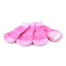 ランジュ (L'ange) ペットソックス4足セット sand pink M