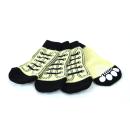 ランジュ (L'ange) ペットソックス4足セット sneaker white XL