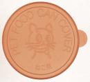猫用缶詰のフタ 2個入