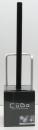 キューボ トイレブラシケース付き BK(ブラック)