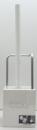 キューボ トイレブラシケース付き W(ホワイト)