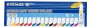 サクラクレパス 絵の具 マット水彩 18色(5ml) ラミネートチューブ入り EMW18