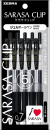 ゼブラ ジェルボールペン サラサクリップ 0.7 P-JJB15-BK5 黒 5本入