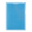 プラス SWクリップ付ボードホルダー カモフラージュ ブルー