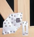 ステンレスオメガ ステンレスフラットプレート 50×120×0.6 (AA2006) 100個