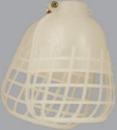 ELPA ポリガード2つ割れ型 ホワイト PG-2(W)