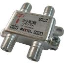 マックステル CS/BS/地デジ対応 3分配器(1端子電流通過型) DYD3A
