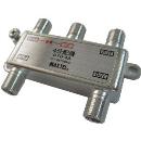 マックステル CS/BS/地デジ対応 4分配器(1端子電流通過型) DYD4A