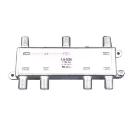 【マックステル】 CS/BS/地デジ対応 6分配器(1端子電流通過型) DYD6A