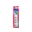 ELPA LEDランプ スイッチ付タップ 4P2m上 WLS-LU42EB(W)