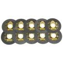 レヂトン 切断砥石 金の卵 10枚組 105X1.0X15