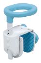 テイコブ コンパクト浴槽手すりブルー YT01