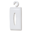ティッシュペーパーボックス ホワイト I-426