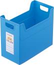 セラピーキッズカラー ファイルボックス A4 ワイド ブルー