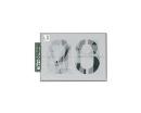 光 プレート テンプレート 数字 TP555-1