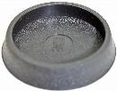和気産業 イスゴム(椅子の足ゴム) 平置 黒丸GK-172 50mm (40501555)