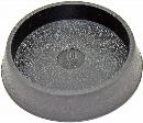 WAKI イスキャップ 平置 黒 丸 内径65mm GK-173 40501655