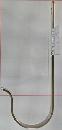 WAKI ステンJ型フック 中 130mm 335800