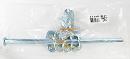 WAKI ユニクロ丸棒貫抜 300mm BK-317 76440700