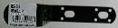 WAKI 補助金具ステイ黒 BS-518 NO18 2283400