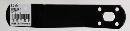 WAKI 補助金具ステイ黒 BS-525 NO25 2284800