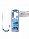 WAKI 補助金具ユニクロJ型 BS-786 25゜X100 572400