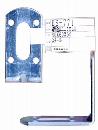 WAKI 補助金具ユニクロL型 BS-771 30X60X60 570900