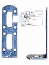 WAKI 補助金具ユニクロL型 BS-779 30X100 571700