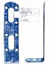 WAKI 補助金具ユニクロL型 BS-780 30X125 571800