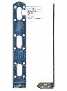 WAKI 補助金具ユニクロL型 BS-783 30X200 572100