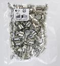 WAKI(和気産業)ニッケルダボ オン凸(100個) 10mmクローム DB-024 5744700