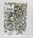 WAKI(和気産業)ニッケルダボ オン凸(100個) 9mmクローム DB-022 5744500