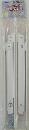 田邊金属工業所 ターナー折りたたみ式棚受け金具 大400mm 白 1組