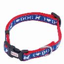 ペティオ ラブドッグカラーS (小型犬) ブルー