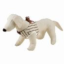 ペティオ ベストハーネスス トライプSS (小型犬) ブラウン