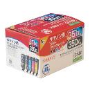ジットリサイクルインクカートリッジ BCI-351XL+350XL/5MP対応 JIT-C3503515PXL