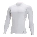 TS DESIGN ハイネックロングスリーブシャツ(春夏用) 84151 ホワイト L