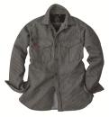 イーブンリバー ワークシャツ SR−3006 ヒッコリーブルーL