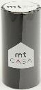 カモ井加工紙 mt CASA  マットブラック 100mm×10m巻き