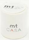 カモ井加工紙 mt CASA  マットホワイト 50mm×10m巻き