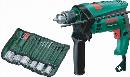 ボッシュ 振動ドリル アクセサリーセット付き PSB600RE/S