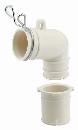 【ロイサポート用・作業費別・処分費別】カクダイ 洗濯機排水トラップ用エルボ 437−202