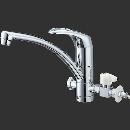 【ロイサポート用・作業費別・処分費別】三栄水栓 シングルワンホール分岐混合栓